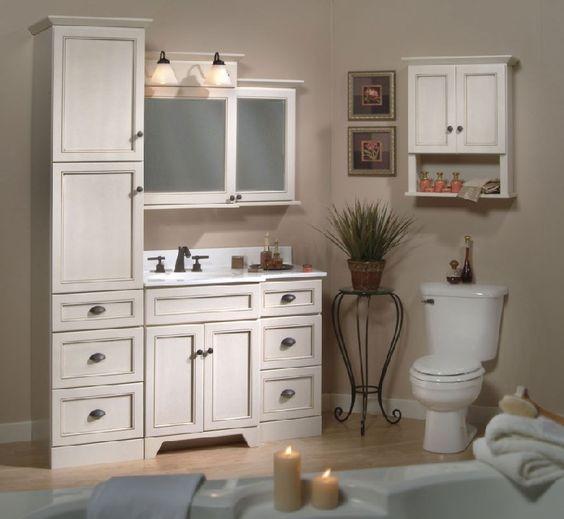 Bathroom Vanities With Linen Towers 36 39 Shown 42 Woodpro Breakfront Vanity Base With