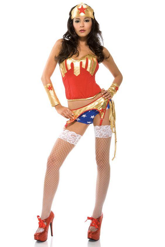 sexy super hero costume bedroom costume wonder woman halloween