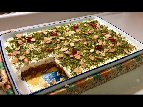 أسهل طريقه لعمل عيش السرايا ورح تحبوها كتير عيش السرايا حلويات رمضان Youtube Food Arabian Food Sweets Recipes