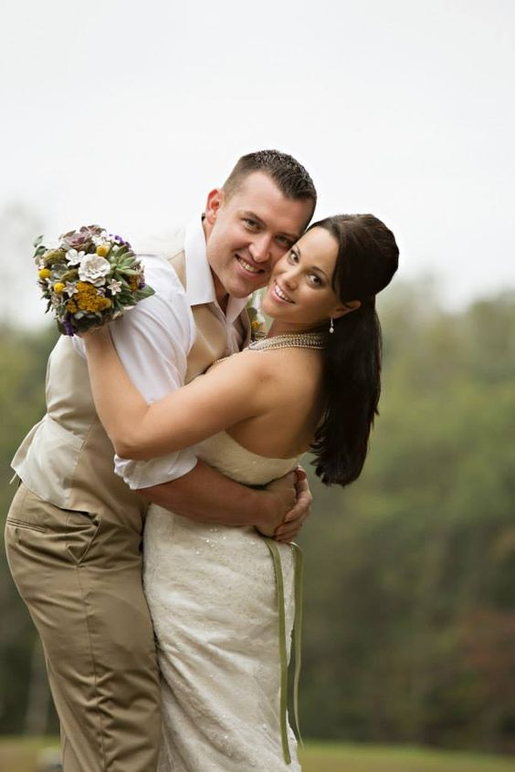 Such an incredible bride and groom!