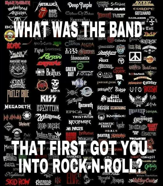 It's hard to say, because it seems like I always was a rocker. I had four older siblings, so I'm sure they influenced me a lot...probably Cream, or The Byrds...but I still love the get the vinyl out.