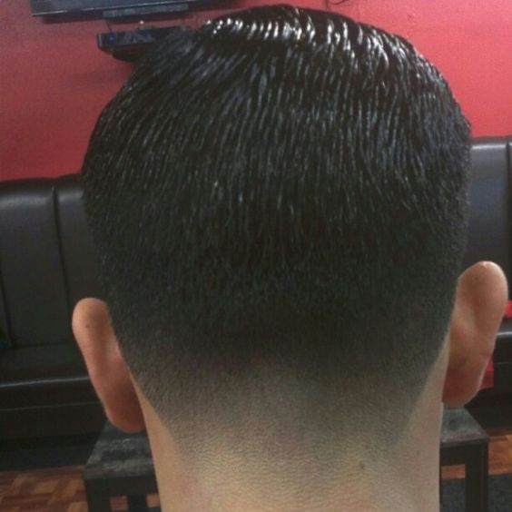 Tapered Nape Haircut For Men taper fade, nice and shops on pinterest