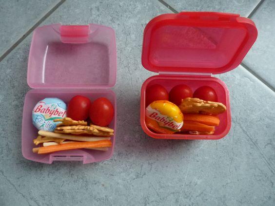 Pausenbox 5 (Tomaten, Karotten, Käse, Cräcker)