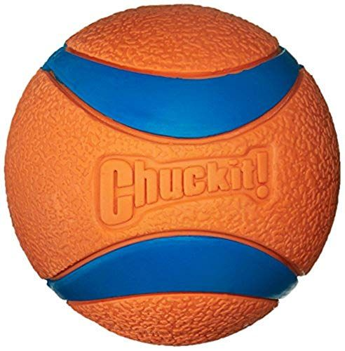 Chuckit Large 3 Inches Ultra Dog Ball Bounces And Floats