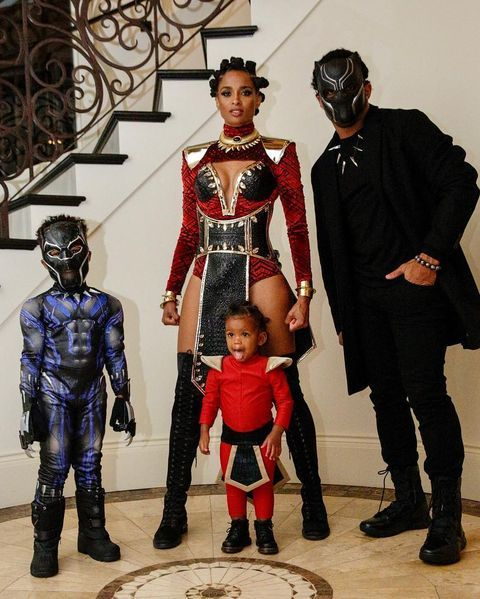 Black Panther Halloween Costumes 2020 Epic Celebrity Halloween Costumes Through the Years, From Heidi
