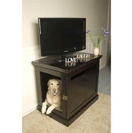 Large TownHaus Dog Crate in Espresso