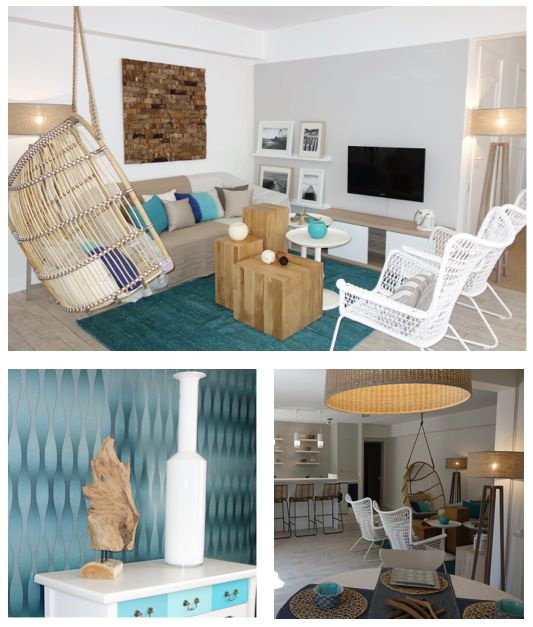 home design interiors interior cosy home beach style / decoration intérieur plage maison à vendre