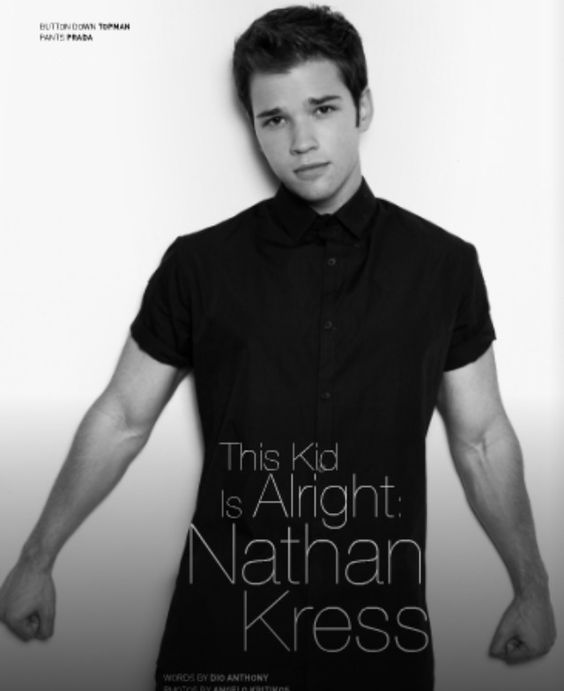 Nathan Kress Working Out
