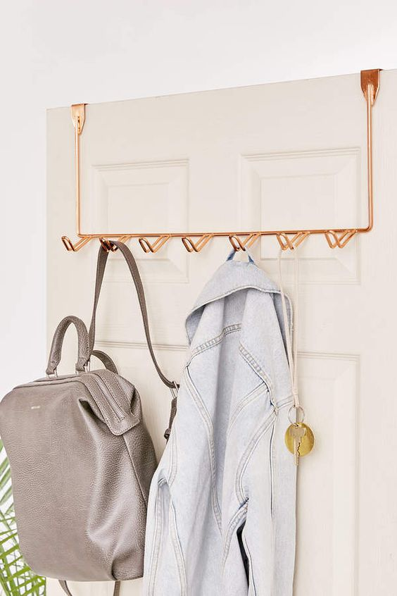 Simple Over-The-Door Multi-Hook