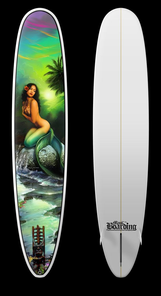 Check out the New Mermaid Longboard we created. Get it at http://mauilongboards.com/estore