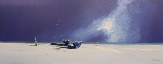 Stormy Skies III by John Horsewell - Original artwork available at Love Art Gallery