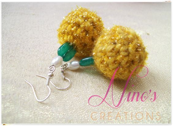 handmade earrings by http://www.facebook.com/pages/Ninos-creations/123853704344831