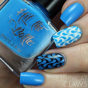 "COMING SOON Hit the Bottle ""Blutonium"" Neon Stamping Polish"