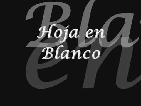 Hoja En Blanco Monchy Alexandra Letra Youtube Youtube Blanco Dance