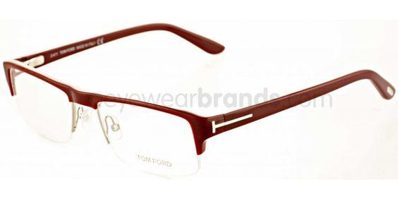 Tom Ford TF 5241 069 Burgundy Tom Ford Glasses: