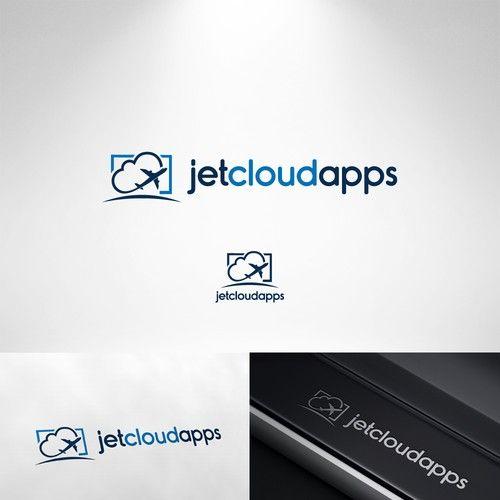 Jetcloudapps Crisp Logo Illustration Of A Jet Soaring Through Clouds For Jetcloudapps Com We Make Custom Clou Logo Illustration Monogram Logo Technology Logo