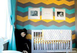 Resultado de imagem para edição in-quarto de bebe cinza amarelo e verde: