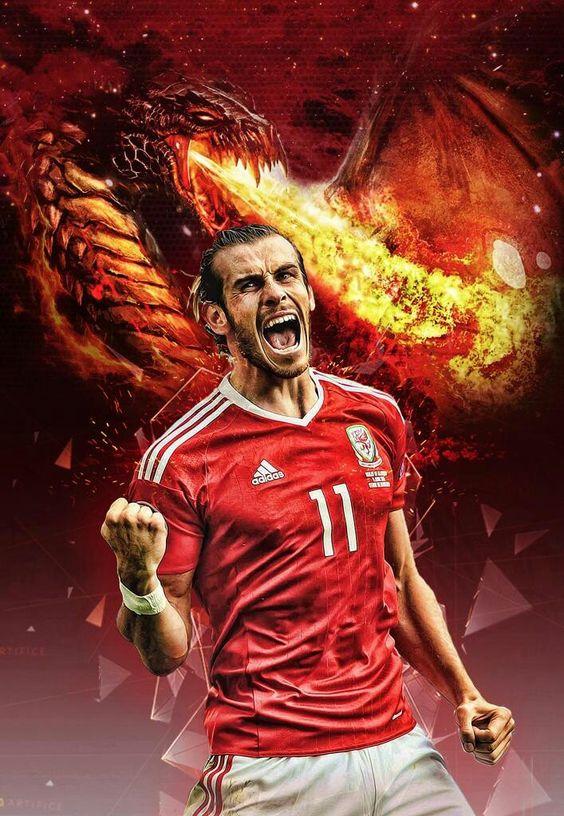 Gareth Bale. Wales.