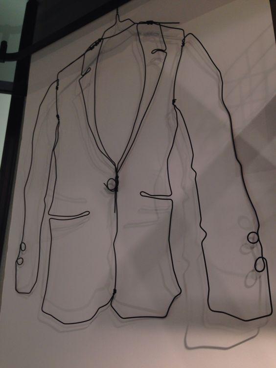 Awesome coat hanger clothing