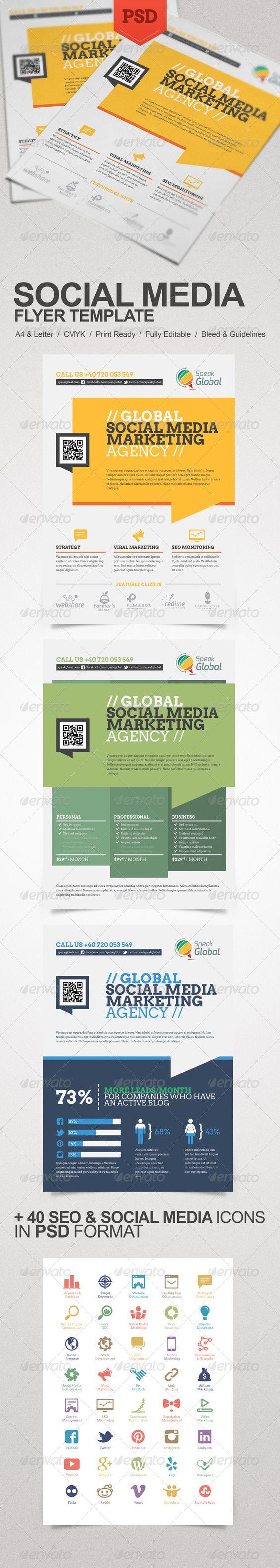 What should I put on a flyer advertising translation?