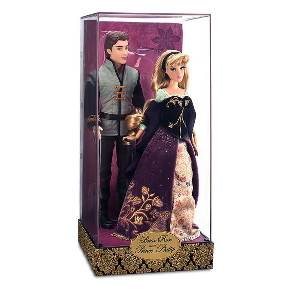 Aurora & Phillip Limited Edition Disney Fairytale Designer Doll Set