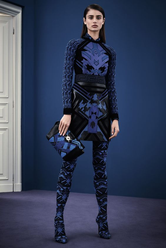 Taylor Marie Hill - Versace Pre-Fall 2015.