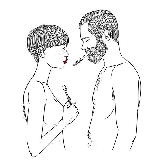 """""""y joder te quiero"""", como fin de cualquier discusión. """"and, shit, i love you"""" as an ending to any fight."""