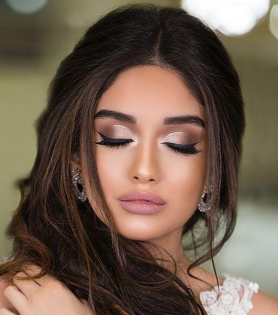 Noiva com maquiagem suave