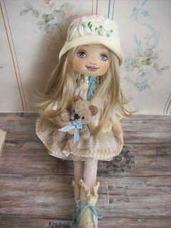 Trixidreams: Letti 2. textile doll