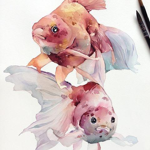Watercolorist Kadantseva Natalia Waterblog