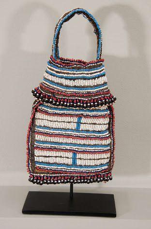 Zulu beaded bags