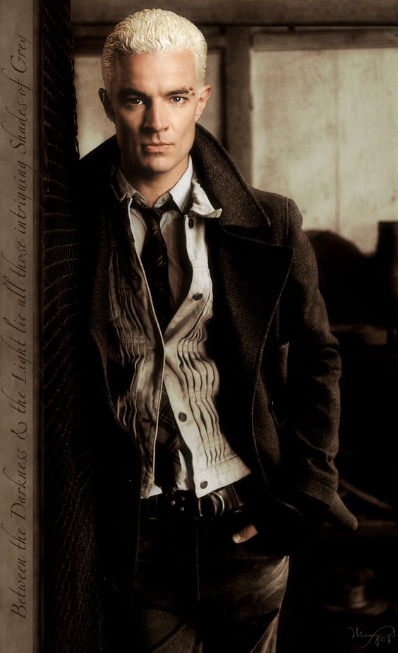 James Marsters... Spike, still my favorite vamp! Pretty much the only vamp I like, and the only one who is so badass, that vampires are not a complete joke!