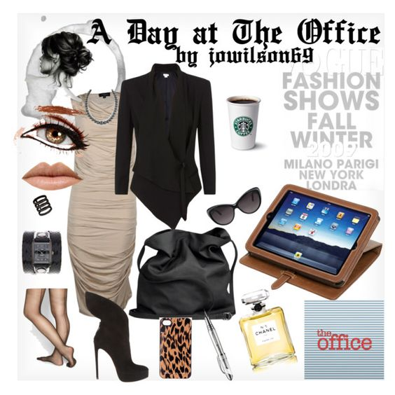 """A Day at The Office"" by jowilson69 on Polyvore"