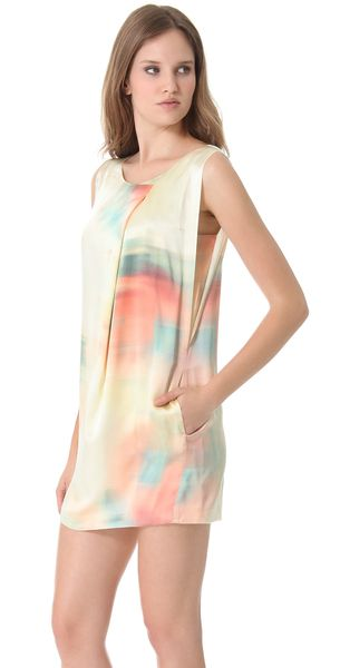 Elizabeth and James colorwash Leah dress in silk.