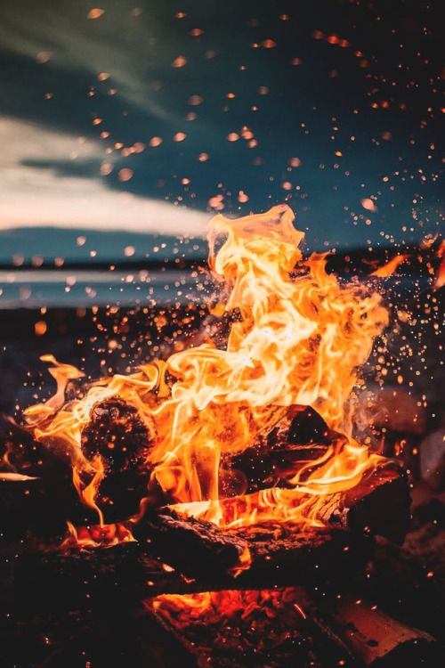 Mystical Fire Photography Fire Image Scenery Photography
