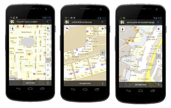 ¿Alguna vez te has perdido en un centro comercial?  El nuevo servicio de Google Maps permite ver los planos interiores de edificios.