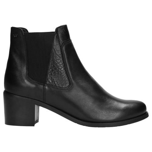 Czarne Botki Damskie 9564 51 Chelsea Boots Shoes Ankle Boot