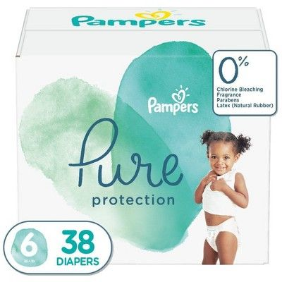 Pampers Pure Protection Diapers Super Pack Select Size