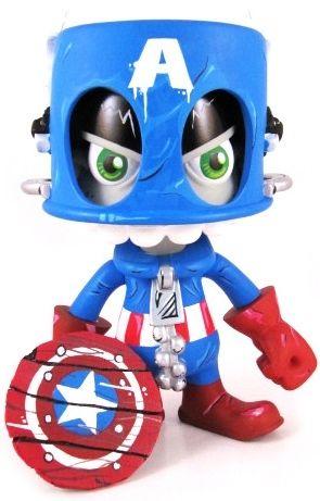 Captain America Mork by MaloApril