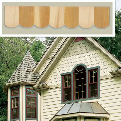 Stains shingle siding and old houses on pinterest Siding square