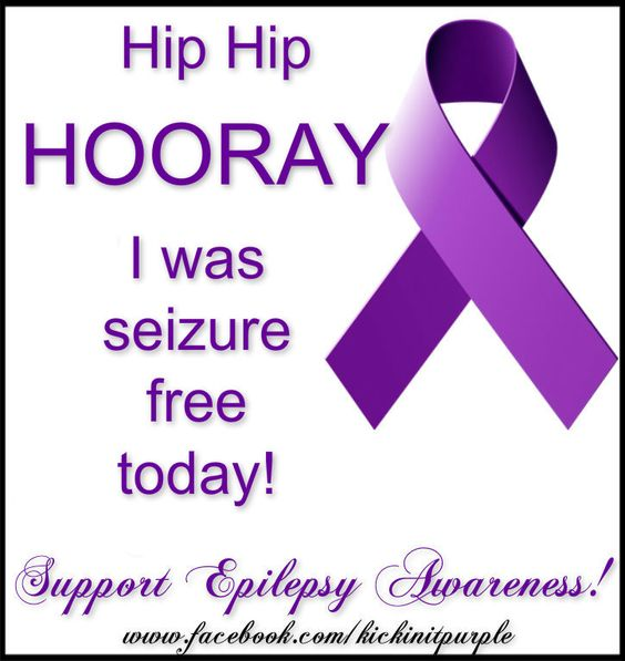 Quotes Being Strong Epilepsy: My First Seizure Free Purple Day.