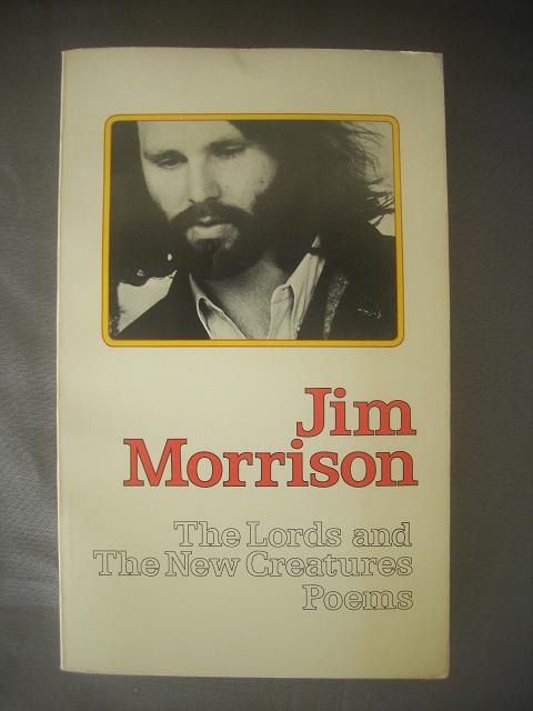 jim Morrison poetry...I have this exact copy....