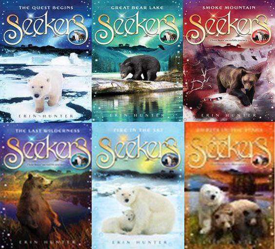 Warriors Book Series Movie: Seekers Series Erin Hunter