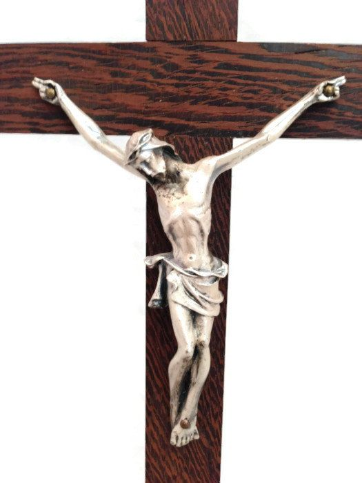 Genial Large Tabletop Crucifix, Religious Wooden And Metal Standing Crucifix #etsy  #gifts