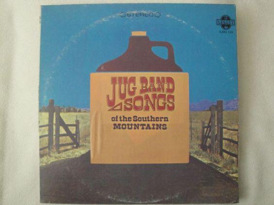 EVEN DOZEN JUG BAND SONGS OF THE SOUTHERN MOUNTAINS VINYL LP 1972 ELEKTRA EX