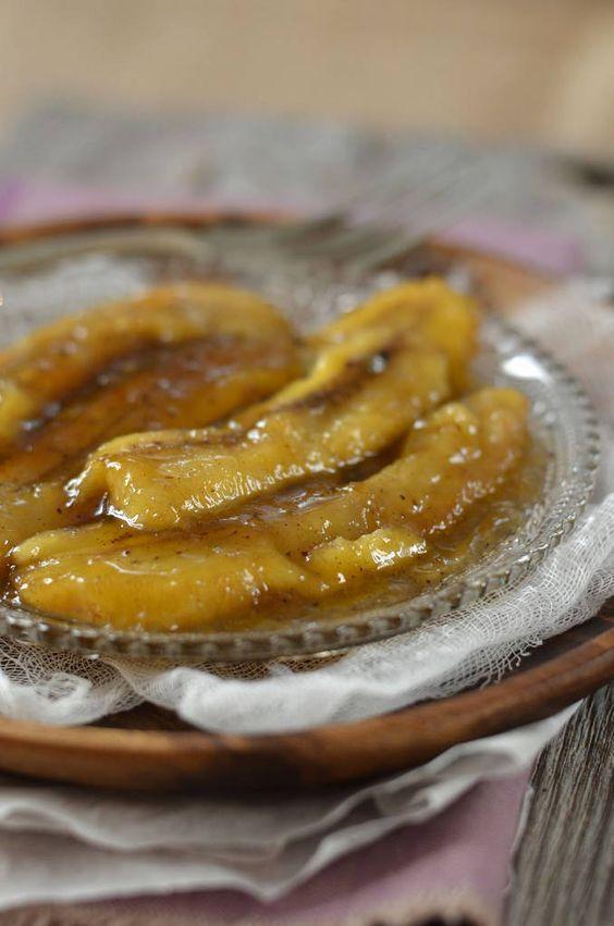 Recette Bananes flambées au rhum brun