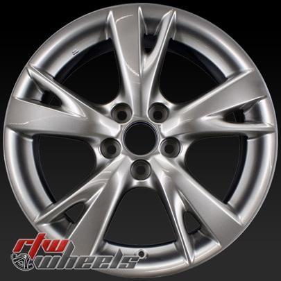"""Lexus IS350 wheels for sale 2009-2010. 18"""" Silver rims 74218 - http://www.rtwwheels.com/store/shop/18-lexus-is350-wheels-oem-silver-74218/"""