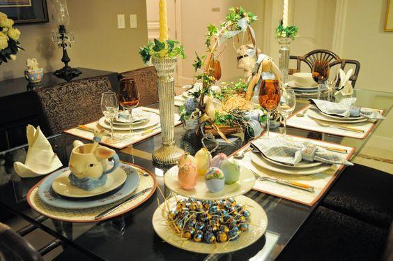 Decoração de mesas de páscoa – veja inspirações lindas e dicas!