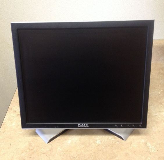 """Dell 1708 FPt 17"""" LCD Monitor With VGA and Power Cables"""