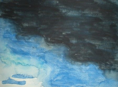 Landscape Sky With Clouds Beginner Lesson 1 This lesson teaches beginner skills for children with special needs for drawing a landscape sky with simple clouds.  Introduces the concept of shading, dark and light and beginner techniques for using watercolor pencils.  Great for kids interested in learning how to draw nature. Great for tweens and teens!